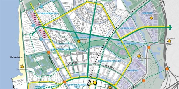 Traffic grids Almere (Netherlands)