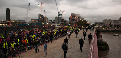 Blackfriars protest tour 2011, London. (Picture by Joe Dunckley)