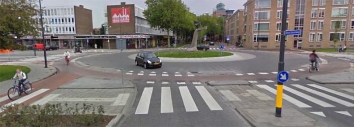 modern roundabout