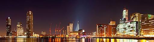 Rotterdam sky line