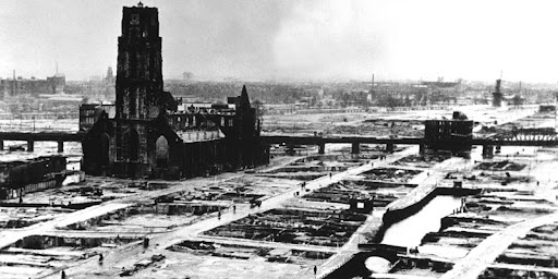 The Centre of Rotterdam in 1940
