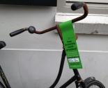 A labeled bike in 's-Hertogenbosch
