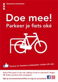 Parking Campaign Amsterdam
