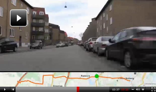 Copenhagen's first cycle super highway