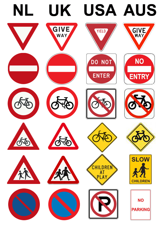 traffic signs and meanings road signs