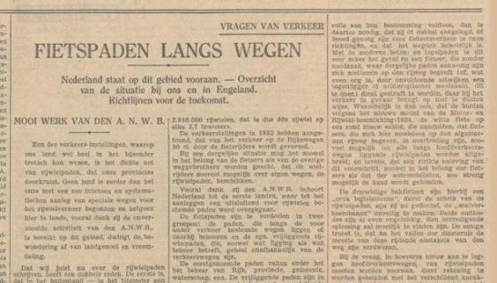 1930scyclepath newspaper article