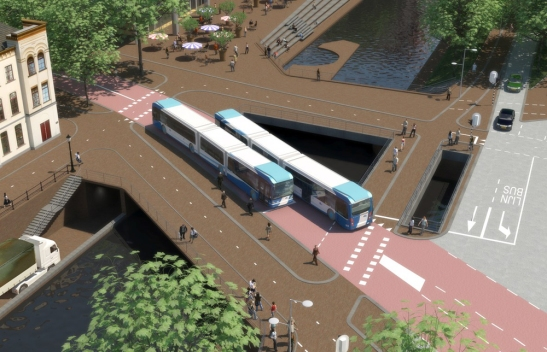 New Catharijne bridge