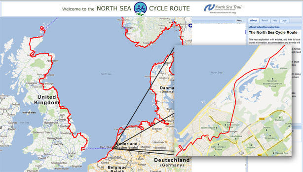 Cycling along the sandy beaches of the North Sea | BICYCLE DUTCH
