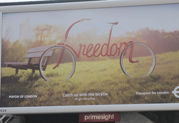 London cycling promotion