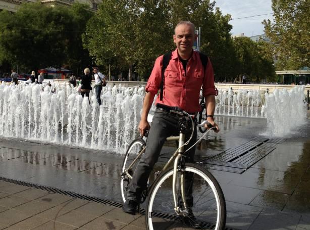 Mark Wagenbuur in Budapest