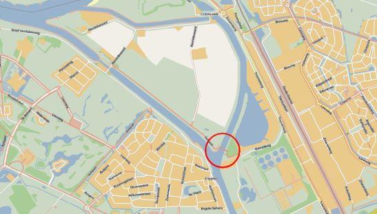 Meerwijksebrug on map