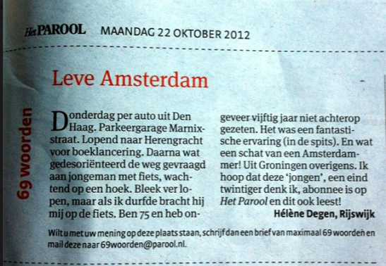 Long Live Amsterdam