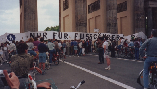 Berlin 1991 demonstration