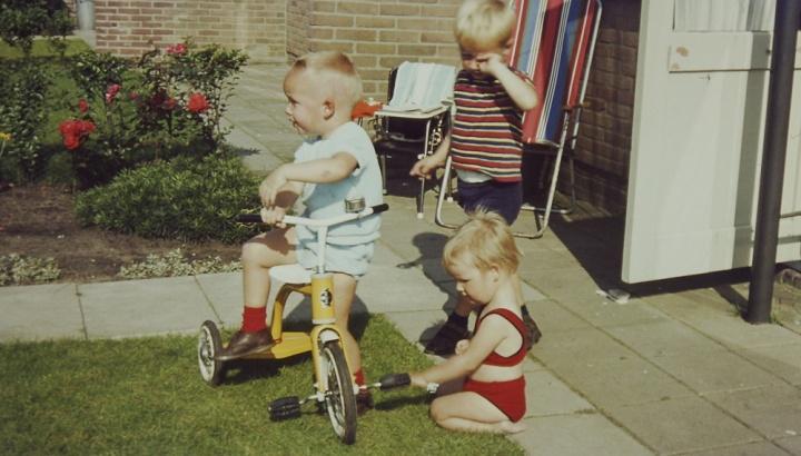 On my bike 1968
