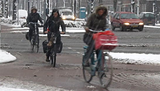 winter cycling ban