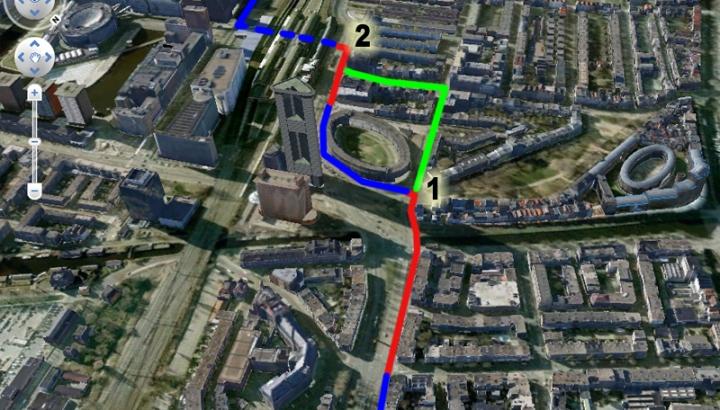 Route The Hague
