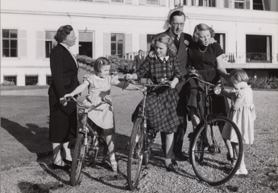 Dutch royal family 1940s