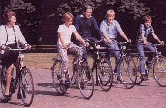Dutch Royal Family 1970s