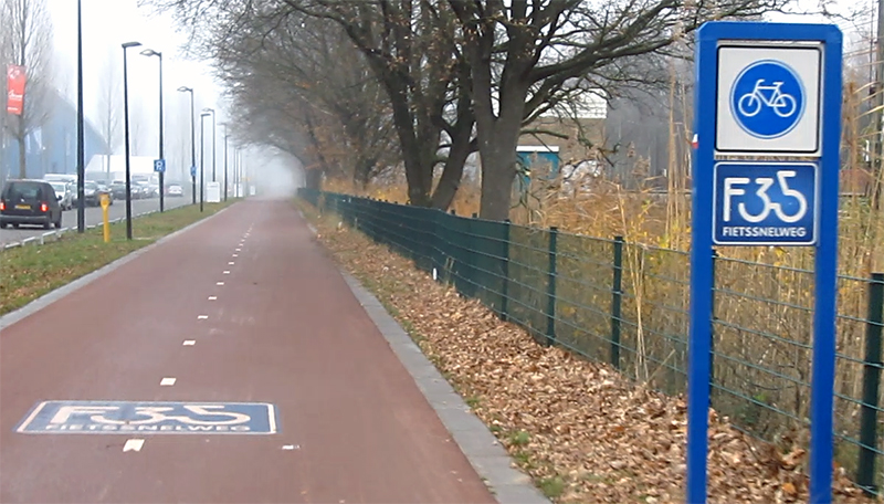 F35 HighSpeed Cycle Route Twente BICYCLE DUTCH