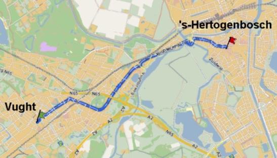 route-vught-shertogenbosch