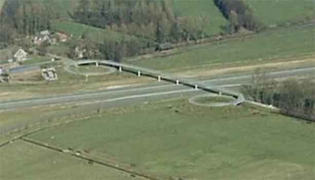 Cycle bridge Uithof 1983