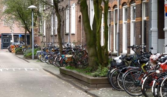 Home bike parking