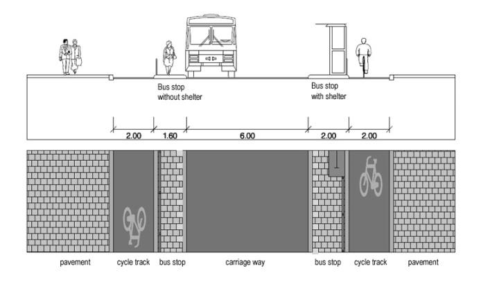 bus stop profile