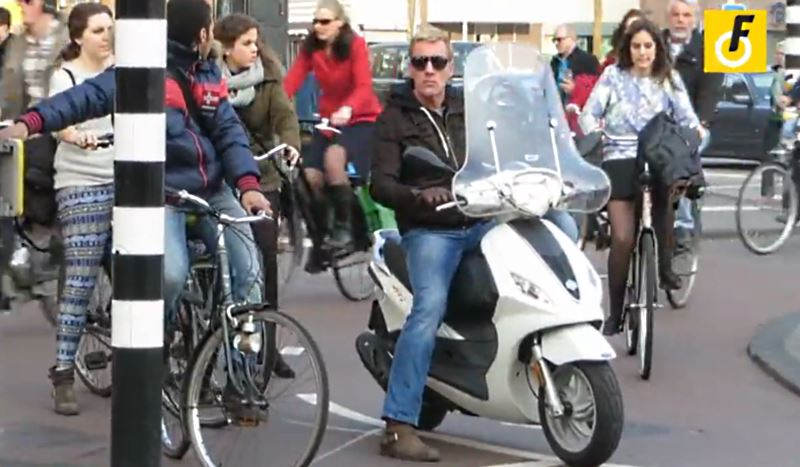Amsterdam Can Send Mopeds To The Carriageway Bicycle Dutch