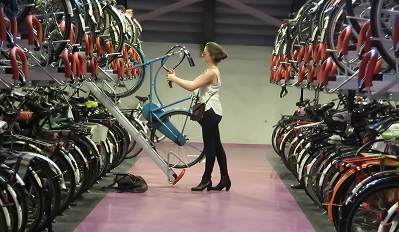 Utrecht S Latest Indoor Bicycle Parking Facility Bicycle