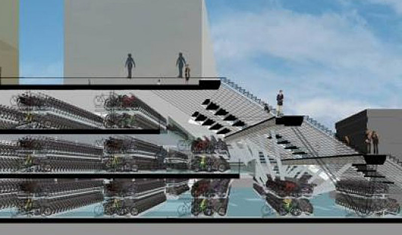 Utrecht S Latest Indoor Bicycle Parking Facility Bicycle Dutch
