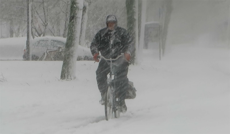 How to make cycling possible in the snow