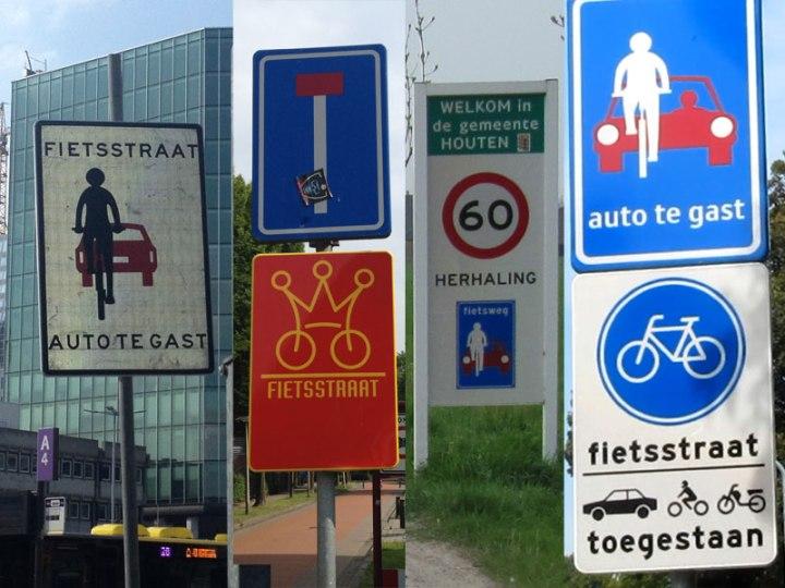 fietsstraat-signage