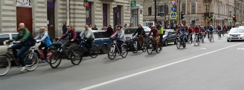 Saint Petersburg on Two Wheels