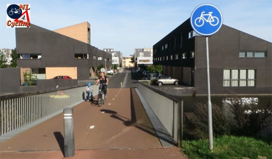 The main cycle route ends here in