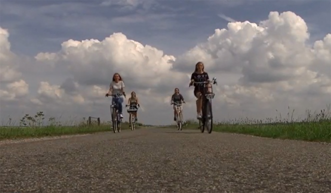 Cycling in the Dutch polders exposed to the ever present head winds is made a lot easier with an e-bike.
