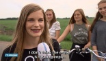 """I don't think the e-bike is for old people"" is clever response to the leading question from the reporter of RTL-news."