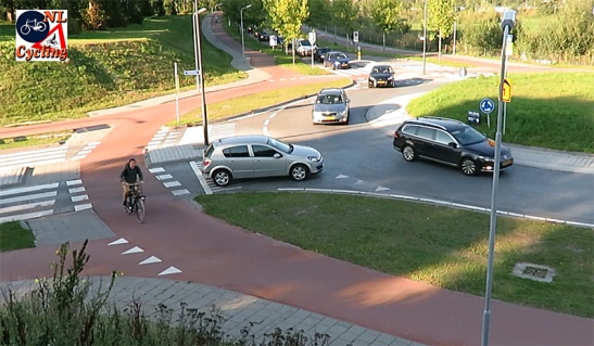 Roundabouts in The Netherlands have a good capacity, they are easy to understand and use and have a good safety record.