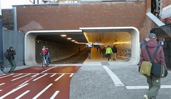 Tunnel in Stazione Centrale