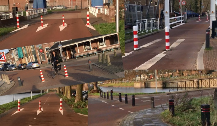 There really isn't much that I dislike about this route update but I genuinly don't understand these bollards. Utrecht: fix this!