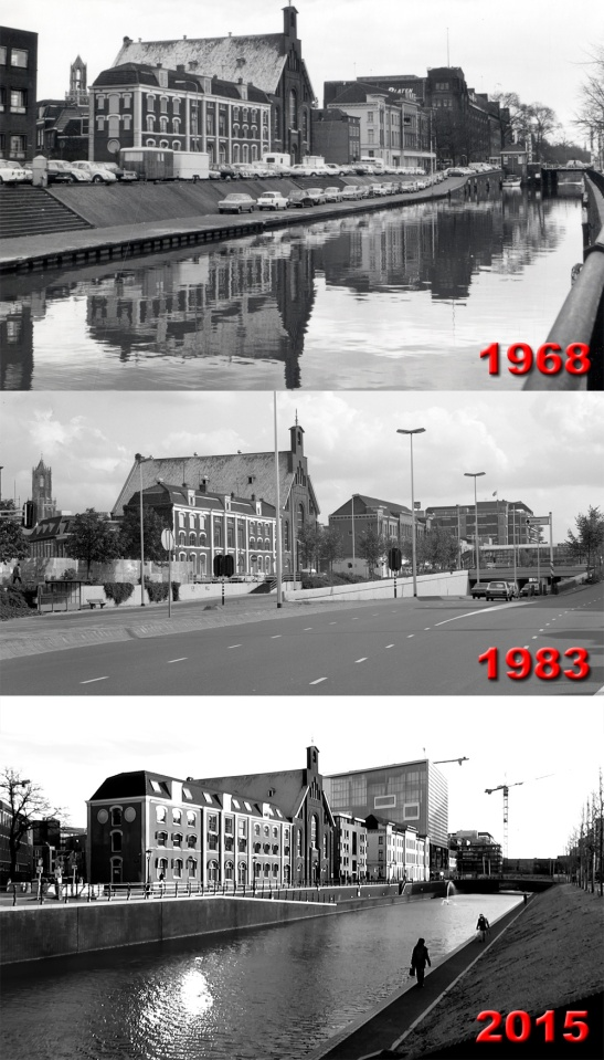 The motorway in the city centre of utrecht that came and went.