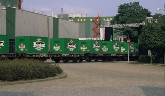 heineken-train