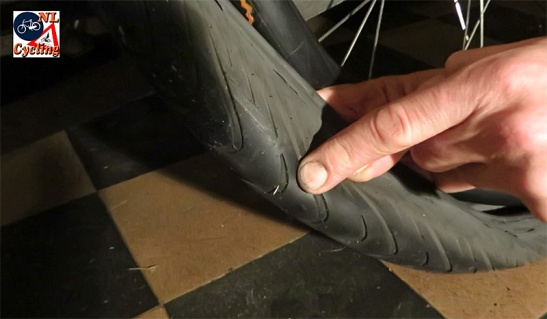 Trying to find the cause of the puncture is an essential step in the procedure.
