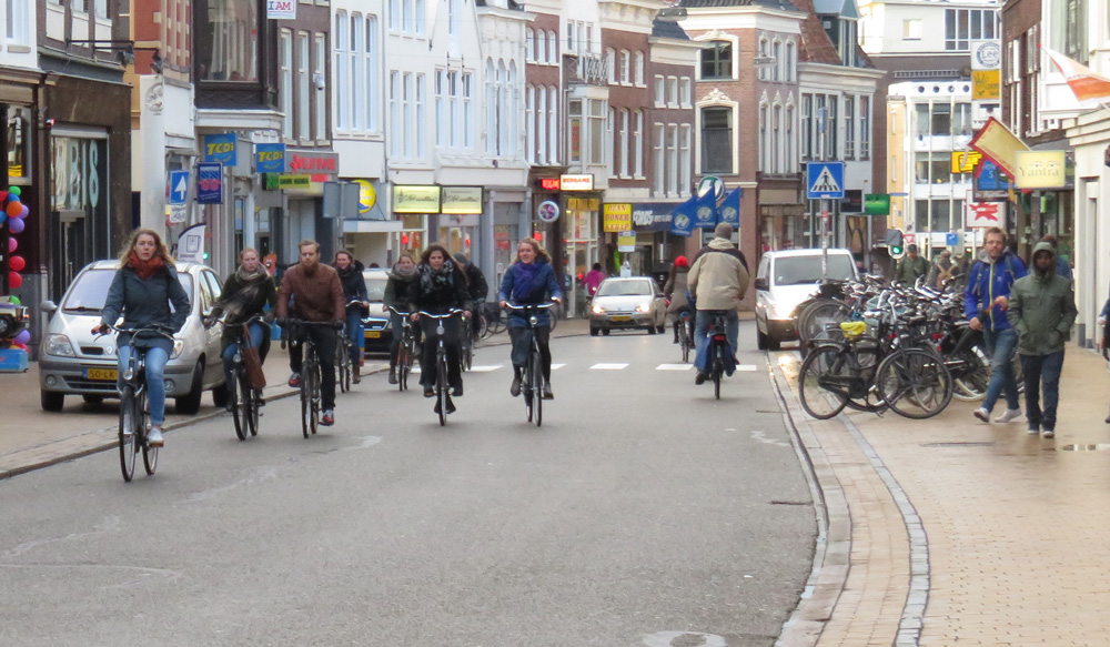 Groningen Cycling City of the Netherlands BICYCLE DUTCH