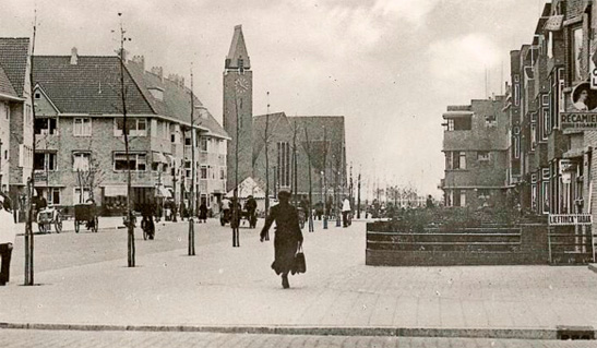 Korrestraat long ago. This is how the city would like to see the street again.