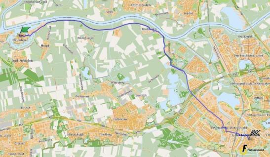 route-heusden-denbosch