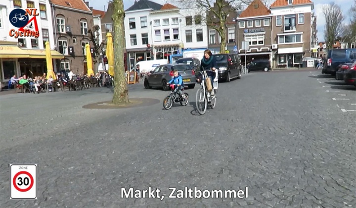 Market Square in Zaltbommel. When I filmed here still with cars parked on it.