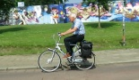 All types of people cycle in the 43-year-old 'bear pit' in Eindhoven.