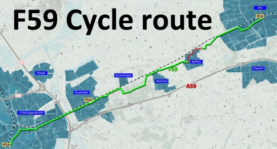 A map with the 21km route.