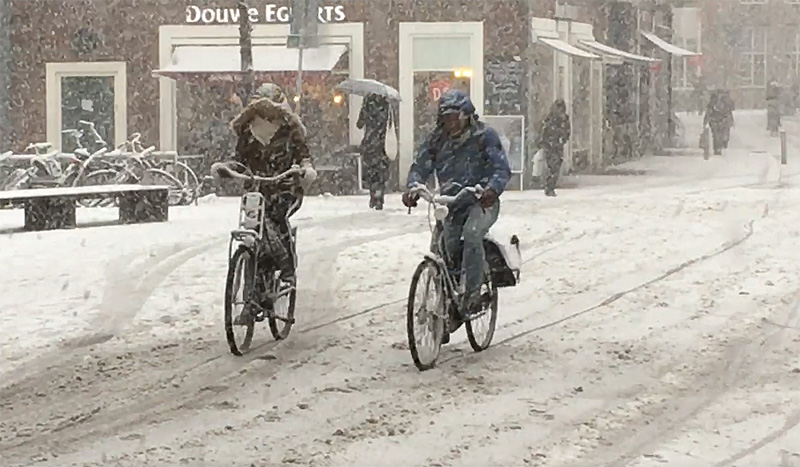 Cycling in a winter wonderland – BICYCLE DUTCH