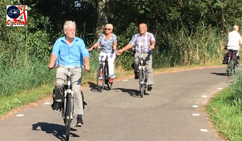 5091b1a70 The aging population in the Netherlands accounts for a large part of the  growth in cycling. Older people cycle longer and more distance.